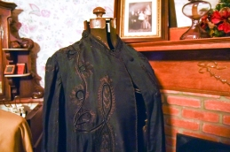 This silk coat was found in the attic...