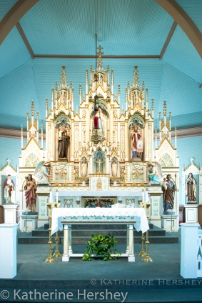St. Mary's alter